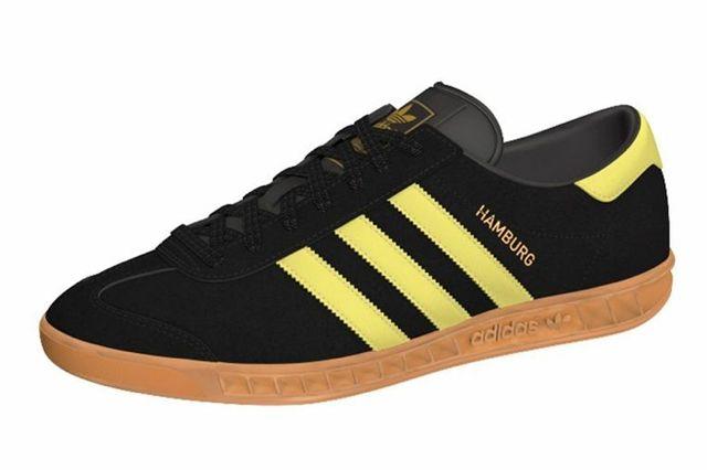 Adidas Hamburg Black Yellow 3