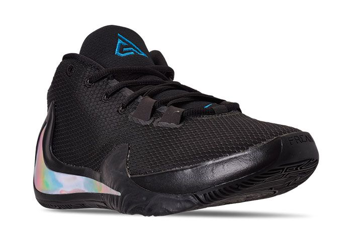 Nike Zoom Freak 1 Black Iridescent Front