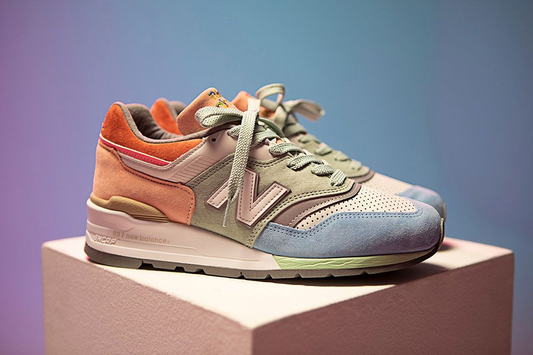 Todd Snyder New Balance 997 Love Right