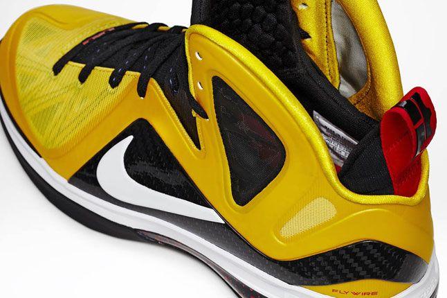 Nike Lebron 9 Ps Elite Varsity Maize Black White Official 04 1