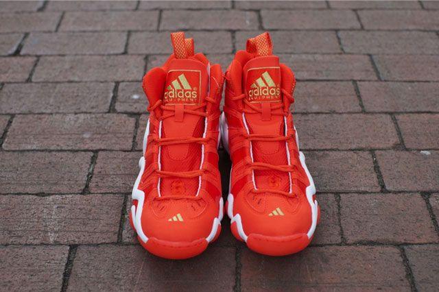 Adidas Crazy 8 Bright Orange Frontview