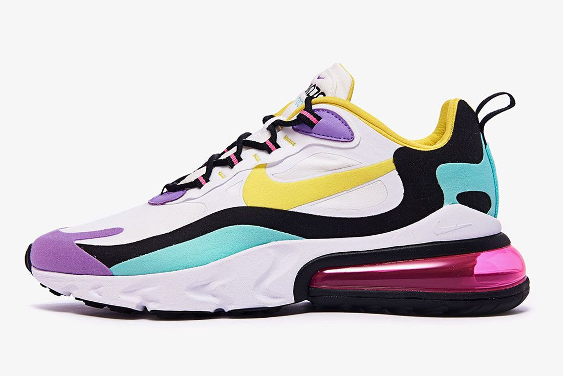 Nike Air Max 270 React Ao4971 101 Lateral