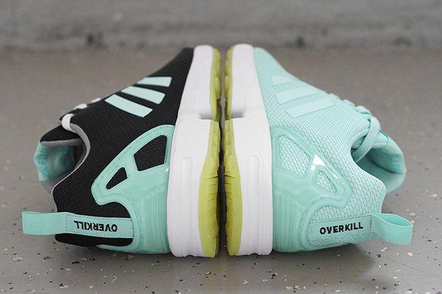 overkill x adidas originals zx flux