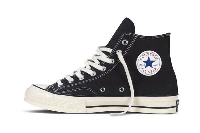 Converse 1970S Chuck Taylor All Star Black Profile 1
