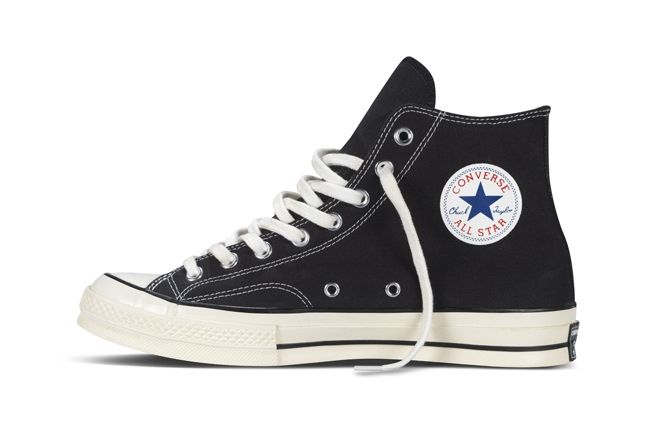 Converse 1970S Chuck Taylor All Star Black Profile 1
