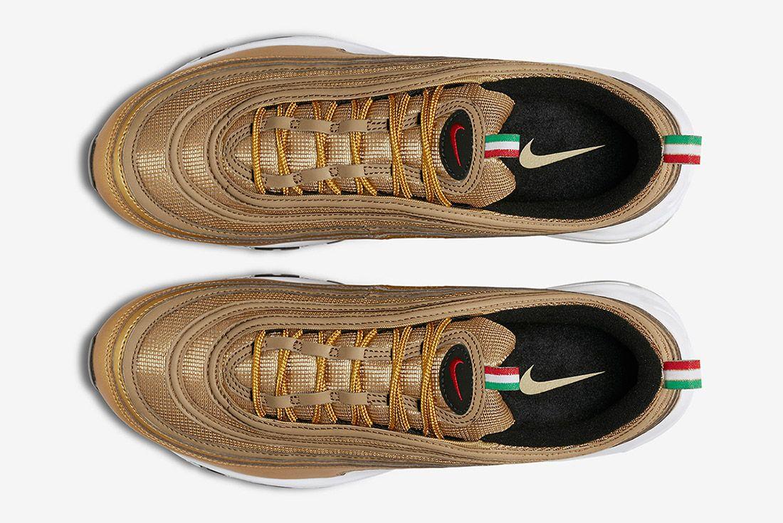 Nike Air Max 97 Metallic Gold Italy Sneaker Freaker 2