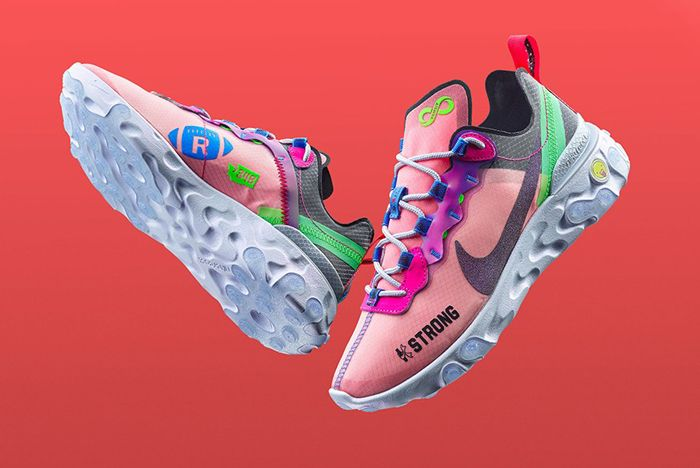 Nike Doernbecher React Element 55 Front Full