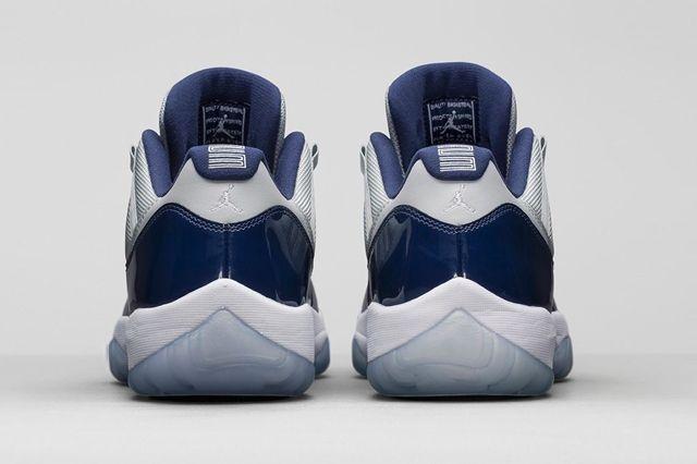 Air Jordan 11 Georgetown Hoyas Bumper 5