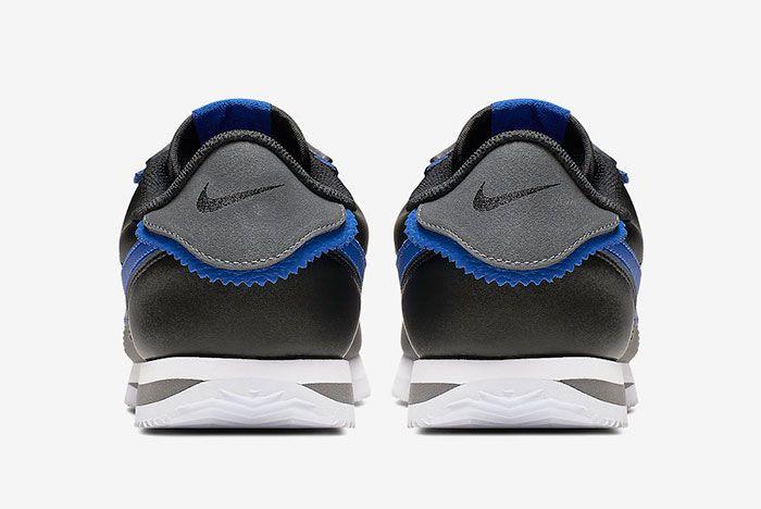 Nike Cortez Game Royal Heel