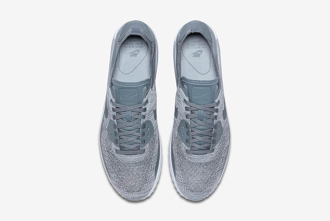 Nike Air Max 90 Ultra 2 0 Flyknit Grey 3