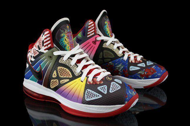 Revive Customs Nike Lebron8 Ps Rammellzee Hero 1