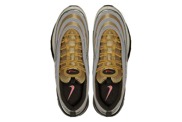 Nike Air Max 97 Gold Red 4