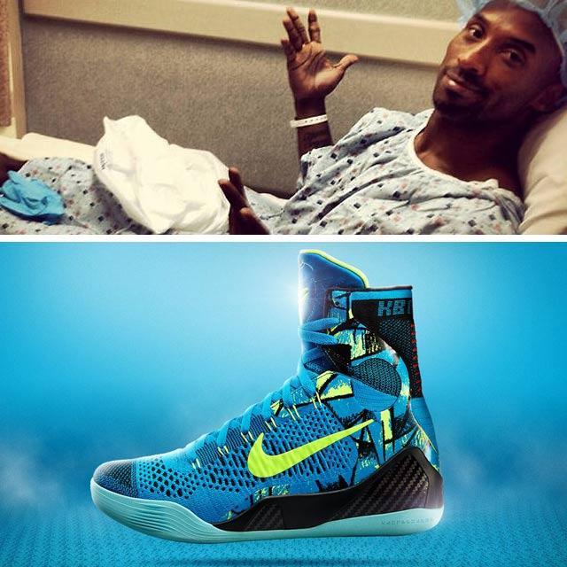Highest Selling Signature Sneakers 3 Nike Kobe 9 Kobe Bryant