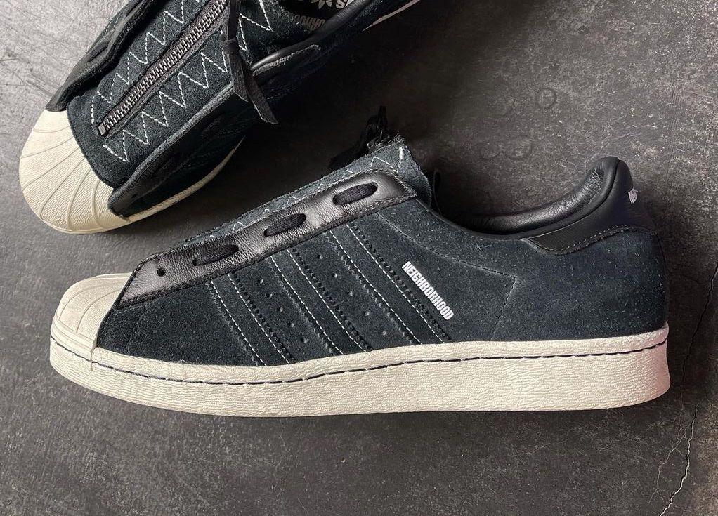 Neighborhood adidas Superstar 80s