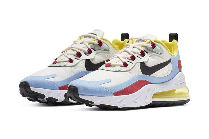 Nike Air Max 270 React Bauhaus Womens Release Date Pair