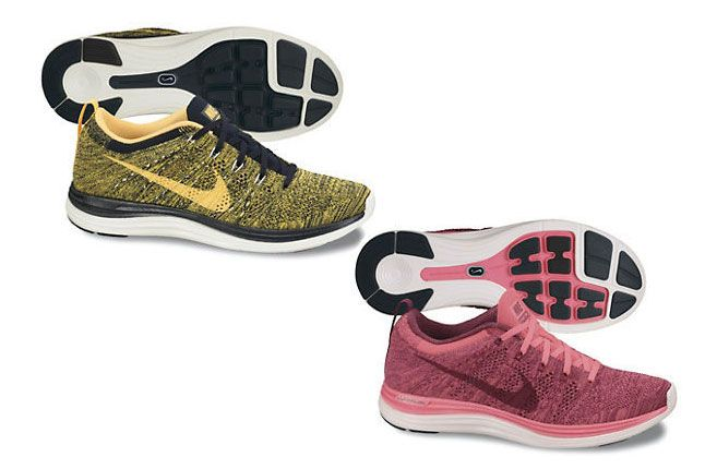 Nike Lunar Flyknit 1 Multi Color Pack 2013 Yellow 1