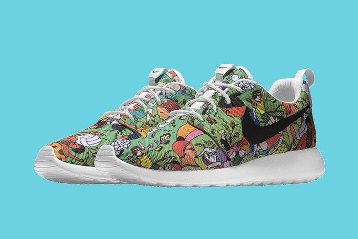 Nike Id Roshe Run Carla Bath 4