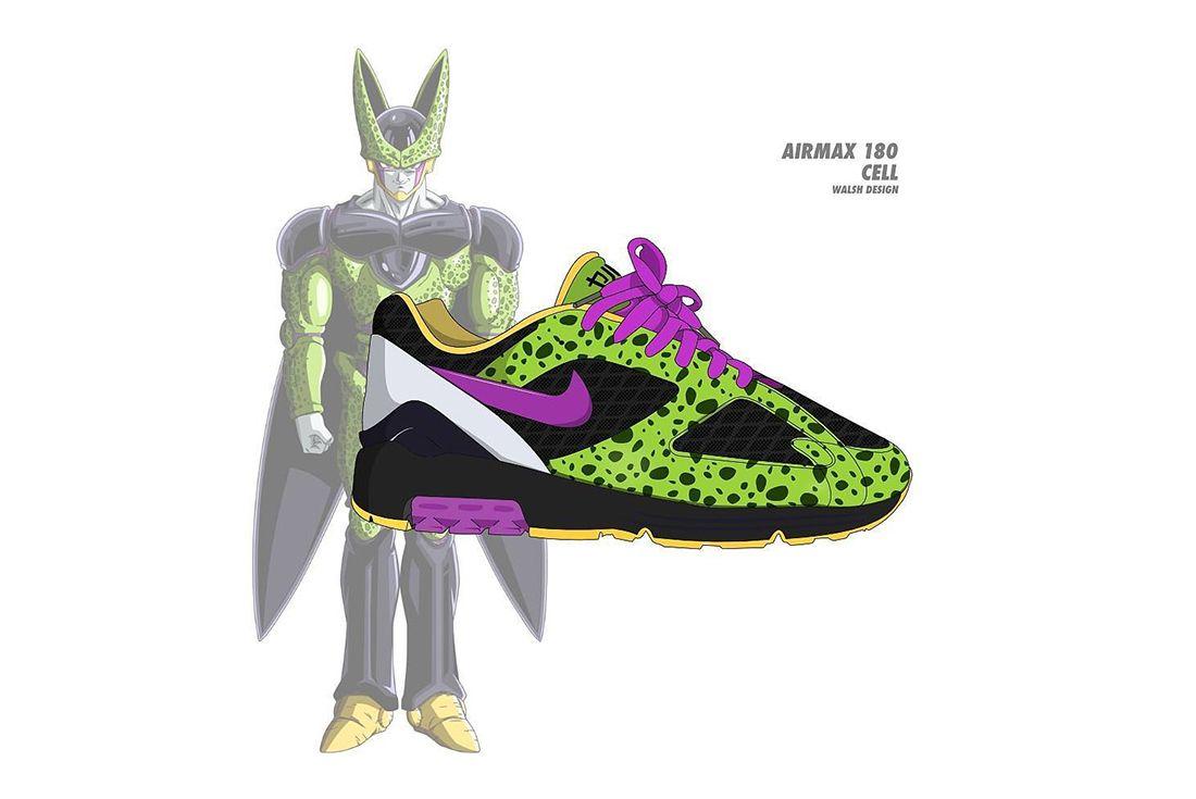 Dragon Ball Z Nike Walsh Design 2