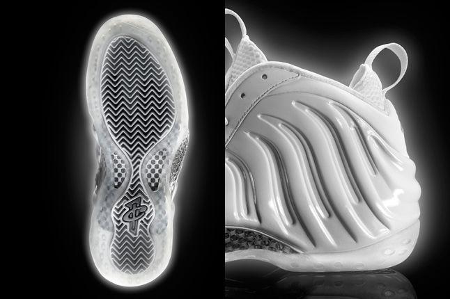 Nike Air Foamposite Whiteice Sole Heel 1