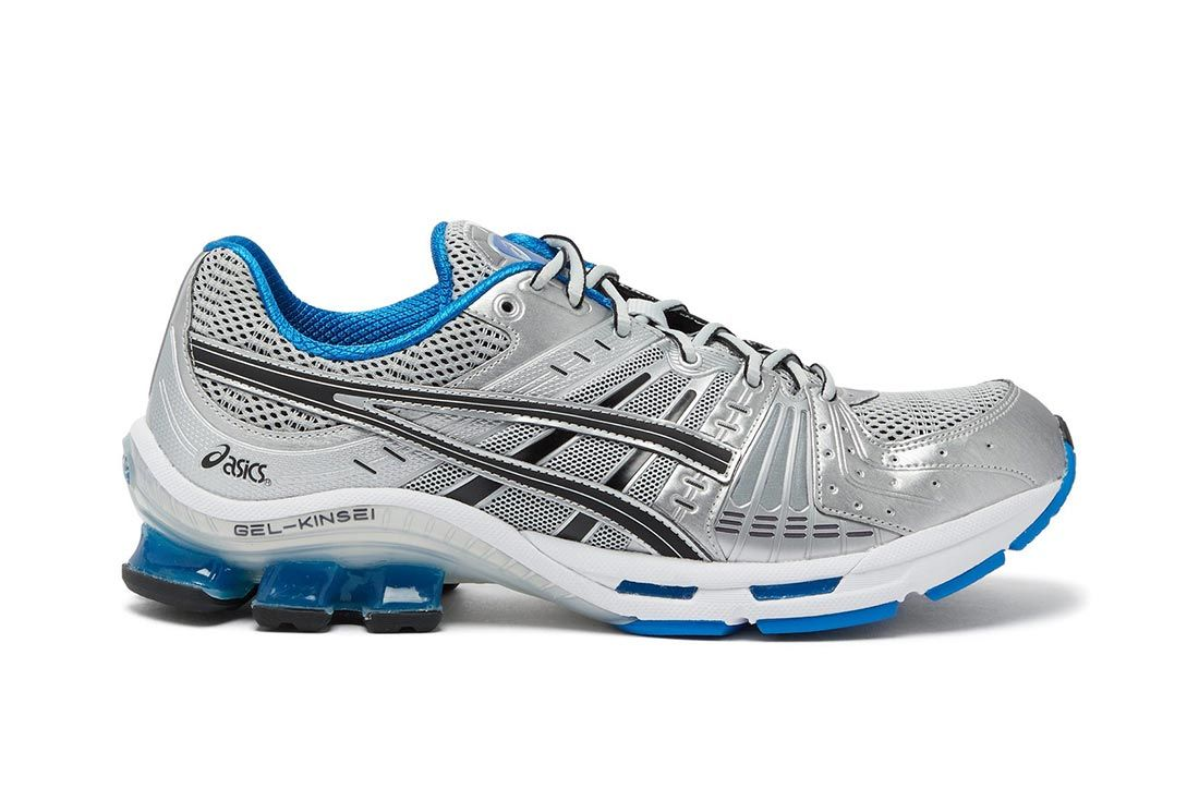 Asics Gel Kinsei Silver Right Side On White