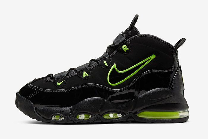 Nike Air Max Uptempo Black Volt Left