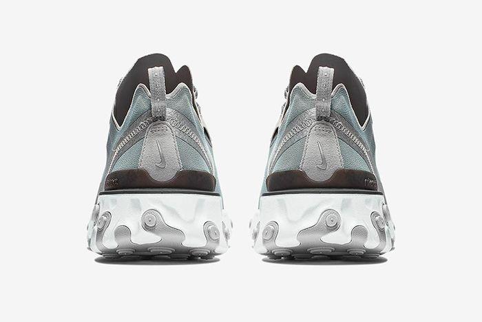 Nike React Element 55 Metallic Silver 3