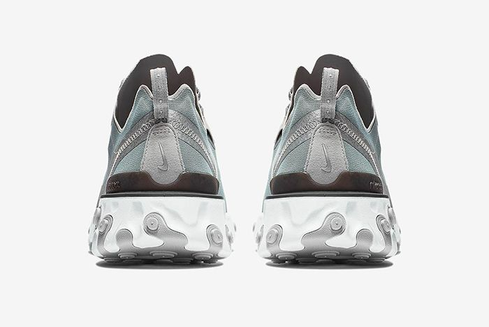 Nike React Element 55 Metallic Silver 3