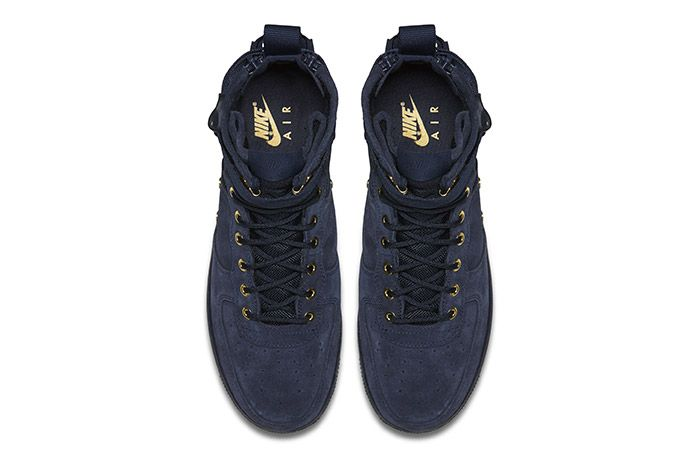 Nike Sf Air Force 1 Mid Obsidian 2