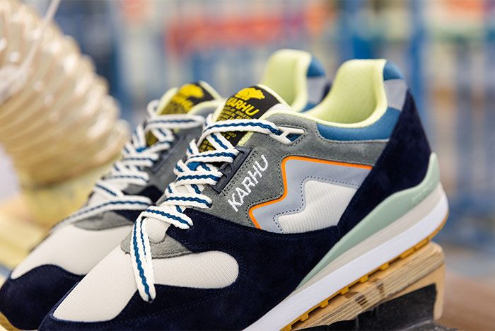 Karhu Cross Country Synchron Black Laces