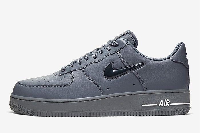 Nike Air Force 1 Low Jewel Grey Left
