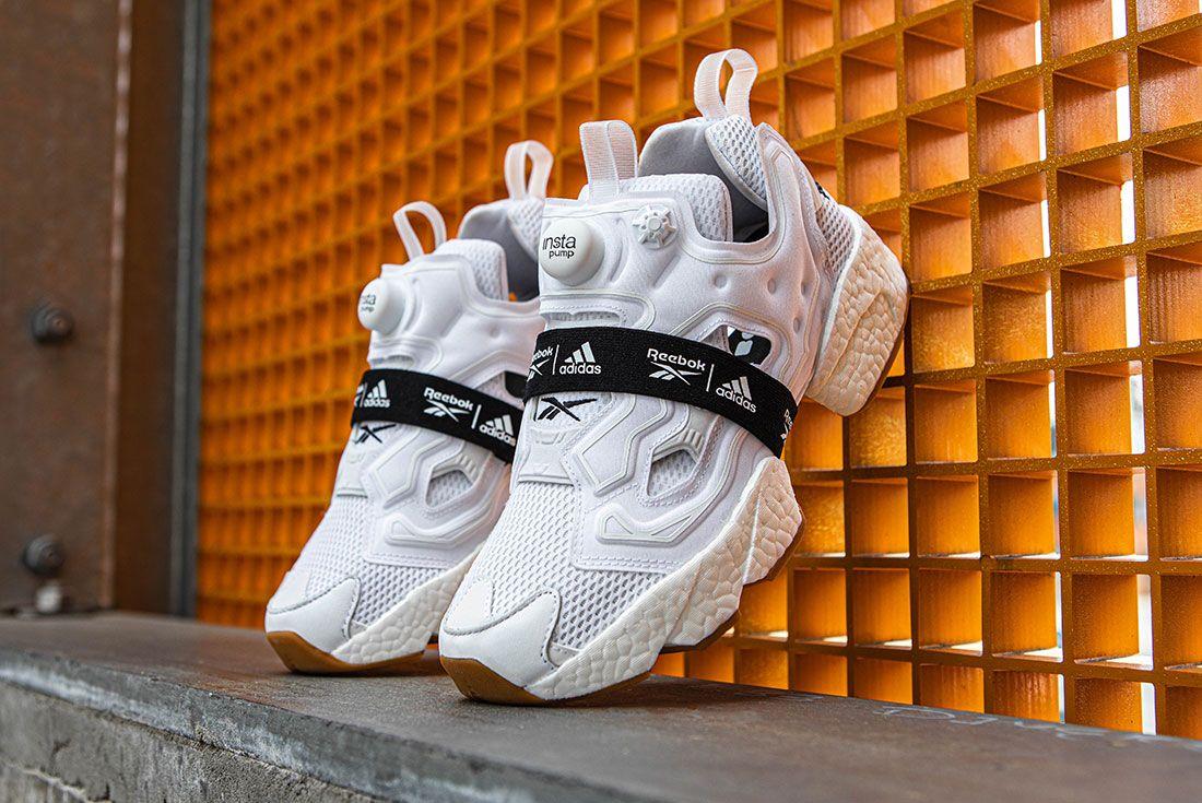 Reebok Adidas Instapump Fury Boost Black And White Pack Exclusive Sneaker Freaker Shot6