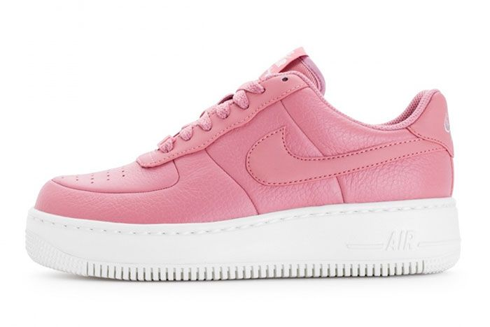 Nike Wmns Air Force 1 Upstep Red Stardust 2