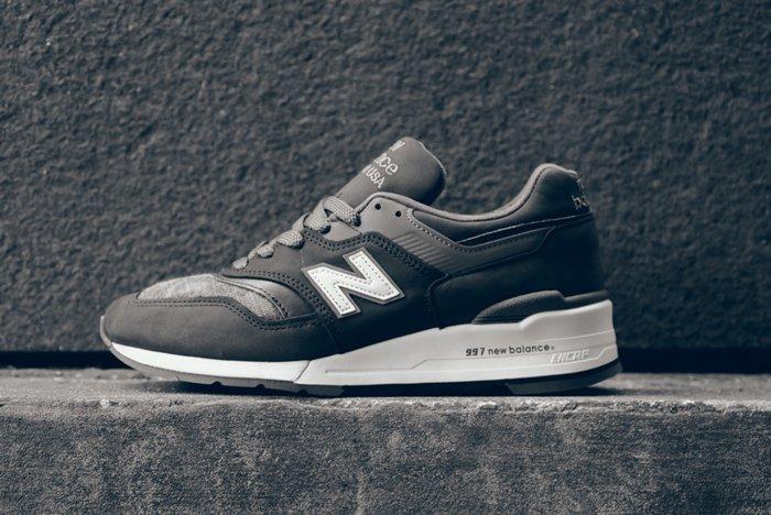 New Balance 997 Made In Usa Charcoal Camo