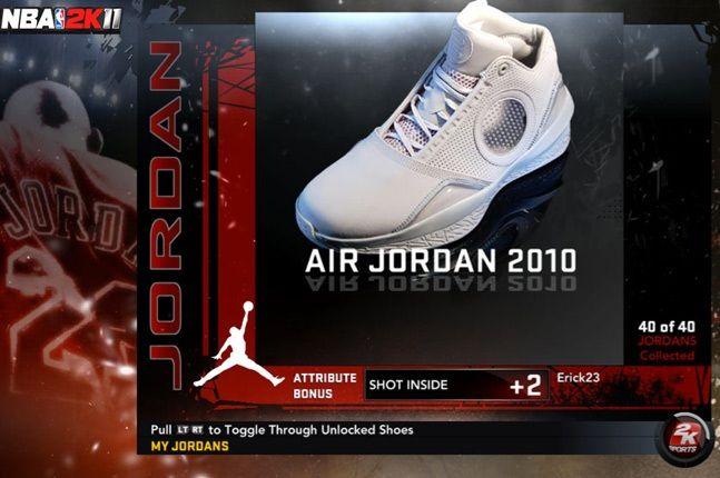 Jordan Nba 2K11 2010 1
