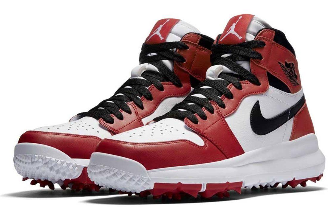 Nike Air Jordan Golf Shoes Red 2017 01