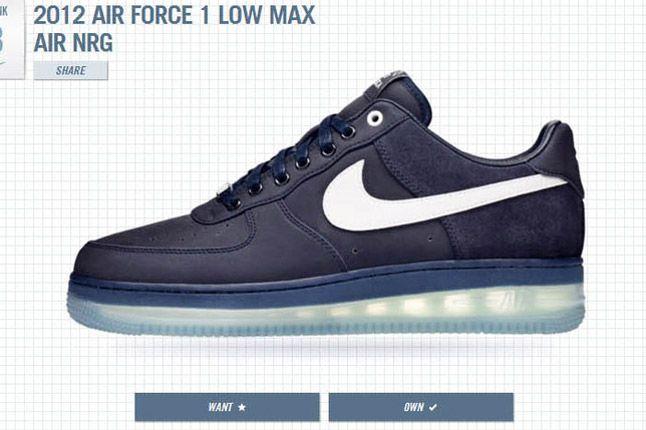 1Thology Leaderboard Air Force 1 Balck Nike 1
