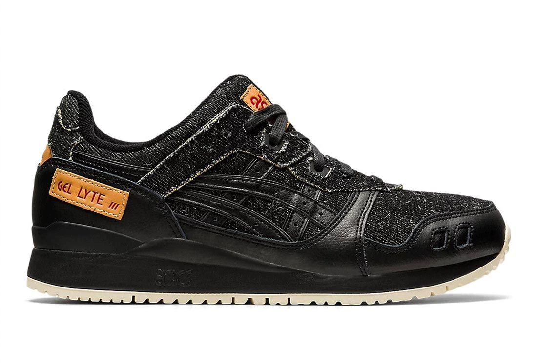 ASICS GEL-Lyte III (Black Denim)