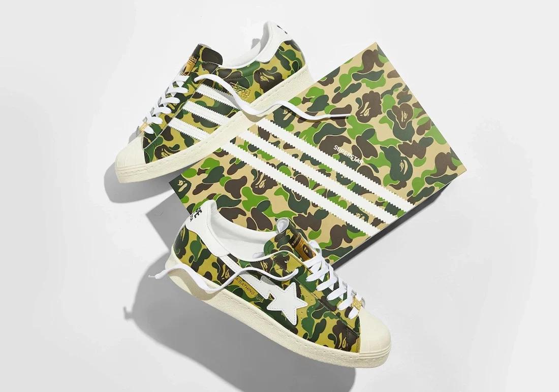 BAPE x adidas Superstar