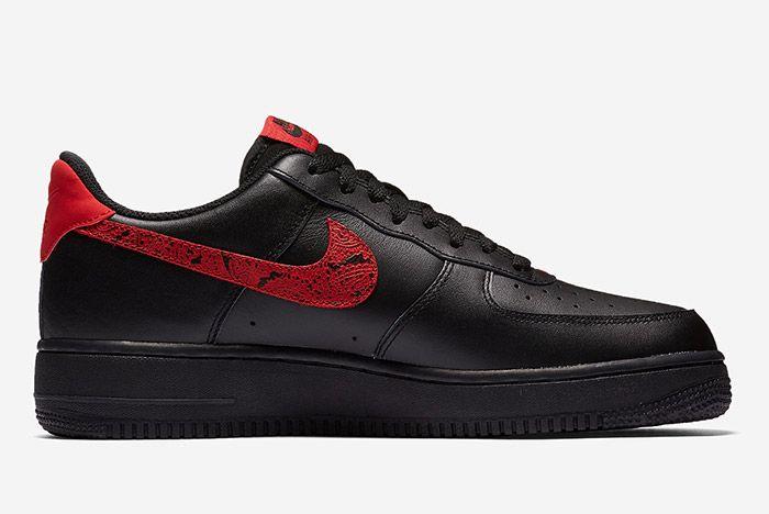 1 Nike Air Force 1 Low Red Paisley Sneaker Freaker