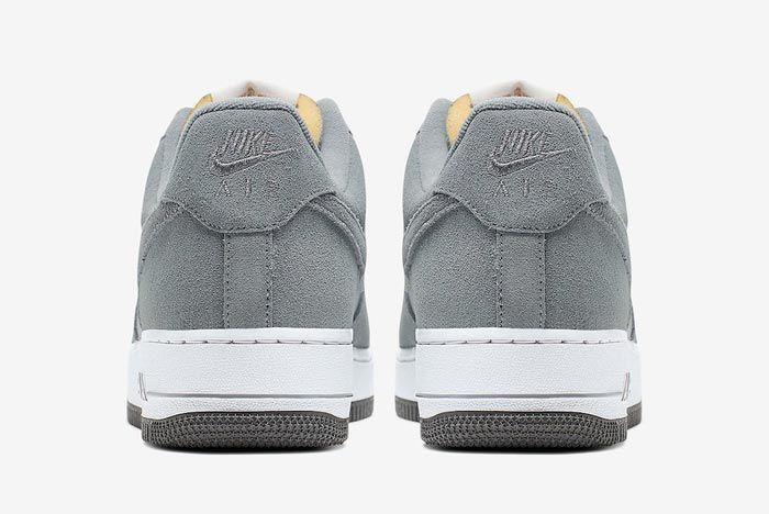Nike Air Force 1 Cool Grey Heels