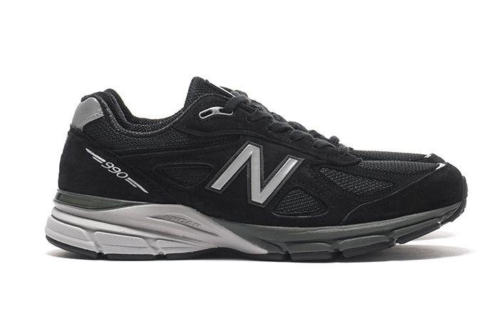 New Balance M990 Black Pig Suede Mesh Release 1 Sneaker Freaker