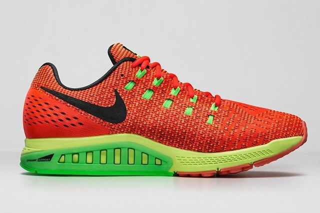 Nike Zoom Structure 19 Bright Crimson Volt 2