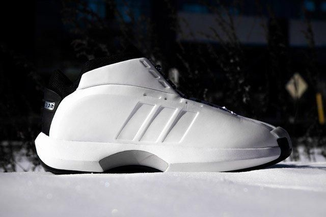 Adidas Crazy 1 White Sideview
