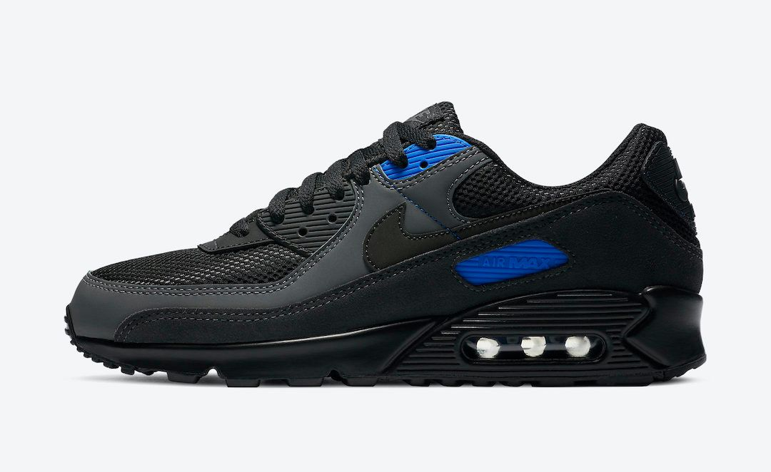 Nike Air Max 90 Black Royal Left