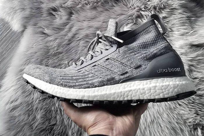 Adidas Ultra Boost Mid Grey 2
