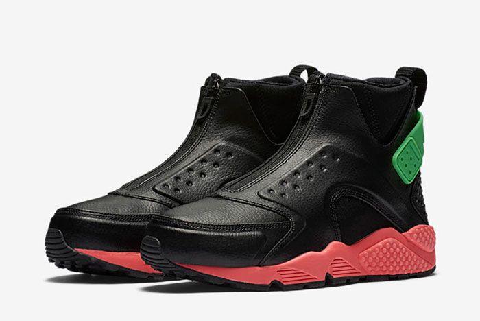 Nike Huarache Mid Premium Wmns Hot Punch2
