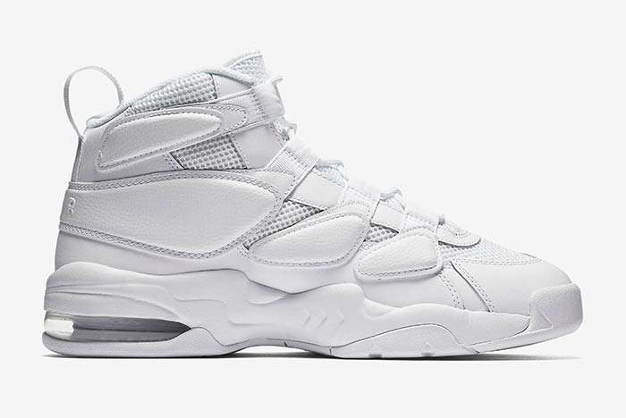 Nike Air Max 2 Uptempo Triple White 2