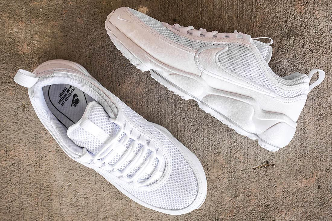 Nike Air Zoom Spiridon Ultra Triple White 8
