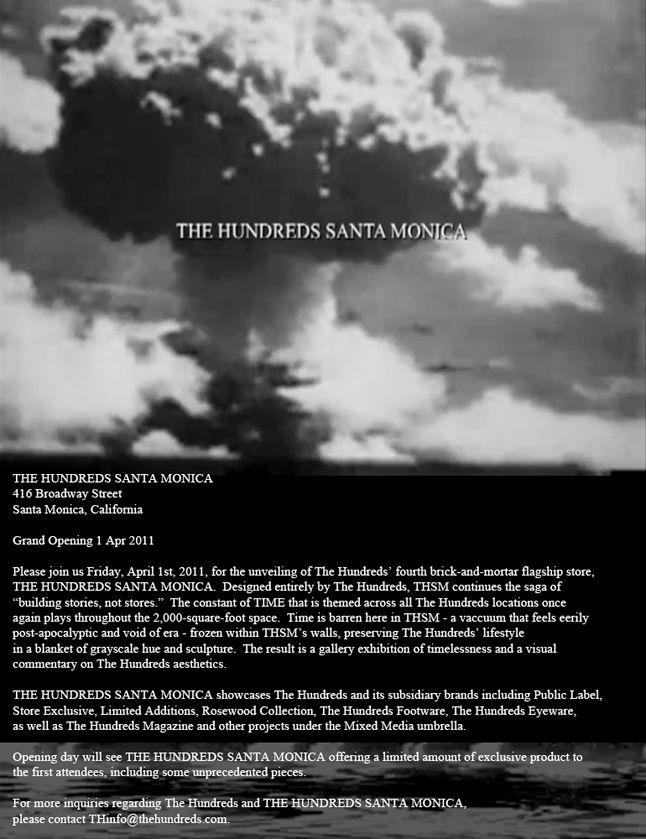 The Hundreds Santa Monica 1 1