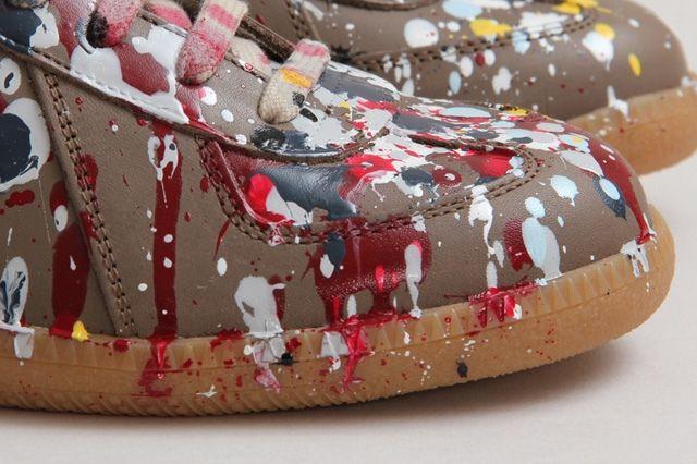 Maison Martin Margiela Paint Splatter Replica High Top 4